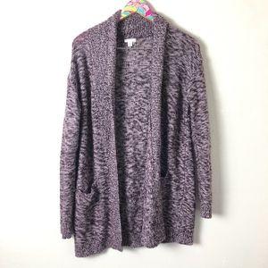 Purple BP cardigan size M